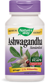 Ashwagandha Standardized 60 Veg Capsules by Nature's Way
