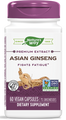 Asian Ginseng Standardized 60 VCaps by Nature's Way