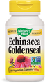 Echinacea Goldenseal, 100 veg capsules, by Nature's Way