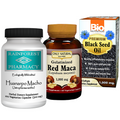 Huanarpo Macho, Red Maca and Black Seed Oil Kit
