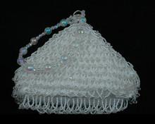 White Pearl Bridal Purse