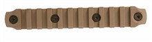 "BCM Gunfighter KeyMod 5.5"" Nylon Rail Section - FDE"
