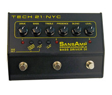 Tech 21 SansAmp Programmable Bass Driver