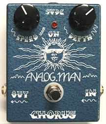 Analog Man STD Chorus w/ Toggle