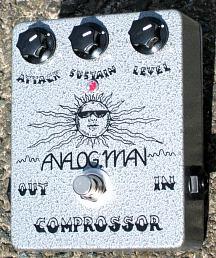 Analog Man Comprossor