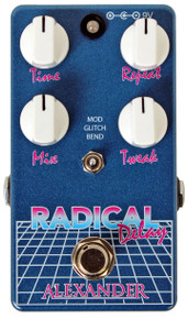 Alexander Radical Delay Guitar Pedal V1
