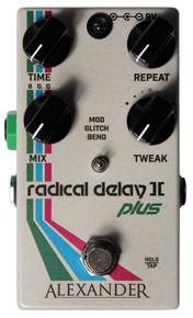 Alexander Radical Delay II+ Guitar Pedal
