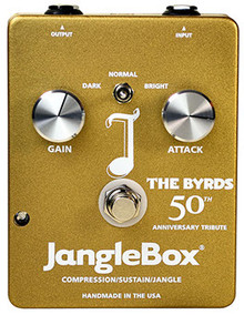 JangleBox 50th Ann Byrds Model Compressor Guitar Pedal