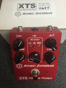 XTS Atomic Overdrive guitar pedal