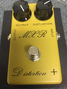 MXR CSP104 Distortion Plus '73 Script - Pre-Owned Guitar Pedal