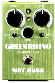 Way Huge Green Rhino Mk 4 Guitar Overdrive Pedal