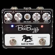 Black Cat Bee Buzz Fuzz guitar pedal