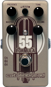 Catalinbread Formula 55 Guitar Pedal Overdrive