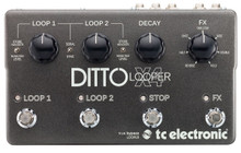 TC Electronic Ditto X4 Dual Looper Guitar Pedal