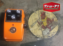 Tru-Fi Colordriver fuzz overdrive boost guitar pedal after the Colorsound Power Booster and Overdriver