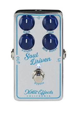 xotic soul drive guitar overdrive pedal