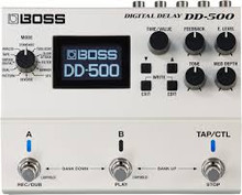 Boss DD-500 Digital Delay guitar pedal