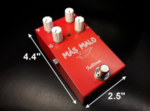 Fulltone Mas Malo Overdrive Fuzz Distortion Guitar Pedal
