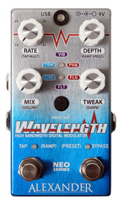 Alexander Wavelength Modulator Guitar Effect Pedal