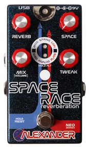 Alexander Space Race Reverb Guitar Pedal