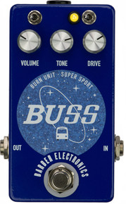 Barber BUSS Overdrive Distortion Guitar Pedal