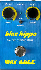 Way Huge Mini Small Blue Hippo Mk III ANALOG Chorus Pedal W61