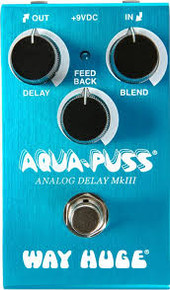 Way Huge Aqua Puss Smalls Series Analog Delay Pedal, New
