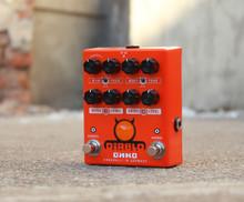 OKKO Diablo DUAL Overdrive Guitar Pedal