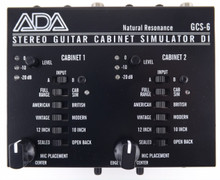 ADA GSC-6 Cabinent Simulator and DI Box