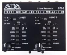 ADA GSC-6 Cabinent Simulator and DI Box