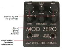 Jack Deville Electronics Mod Zero Chorus Flanger Guitar Pedal