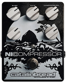 Catalinbread NiCompressor  Guitar Effects Pedal  in Black or White