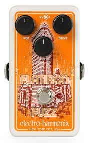 Electro-Harmonix Flatiron Fuzz Guitar Pedal