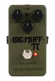 Electro-Harmonix Green Russian Big Muff Pi Fuzz Guitar Pedal