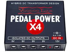 Voodoo Lab Pedal Power® X4 Guitar Pedal Power