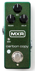 MXR Mini Carbon Copy guitar delay pedal M299