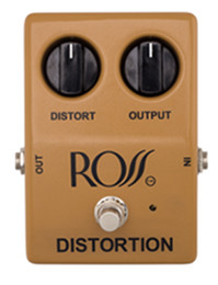 Ross Tan Distortion Guitar Pedal
