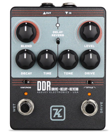 Keeley DDR – Drive Delay Reverb Guitar Pedal