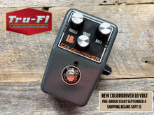 Tru-Fi Colordriver 18V Version Overdrive Guitar Pedal