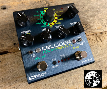 source audio collider reverb+delay guitar pedal in one incredible unit. Musictoyz.com got them first, they will sell out