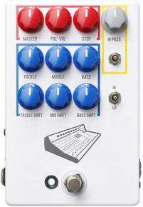 JHS Colour Box Version 2 EQ Direct Box Guitar Pedal