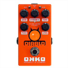 Okko Diablo Single Channel Overdrive Guitar Pedal