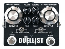 King Tone The Duellist Overdrive Guitar Pedal