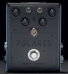 Spaceman Polaris 1 of 20 in Black Resonant Overdrive Guitar Pedal