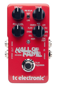 TC Electronic TonePrint Hall of Fame Reverb VERSION 1