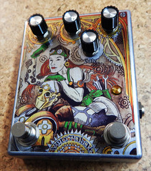 The FuzzHugger Velcrobot Guitar Pedal