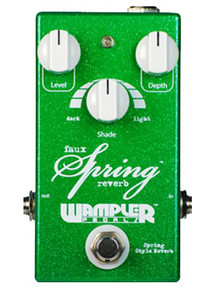 Wampler Faux Spring Reverb Guitar Pedal