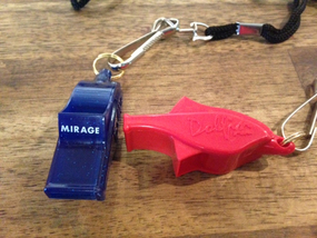 Mirage Sea Kayaks pealess safety whistle