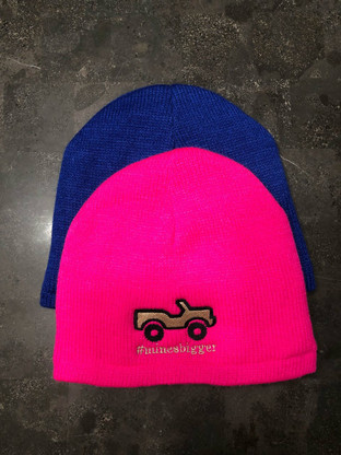 Neon Pink Cap w/ lightweight lining