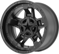 XD Series Rockstar 3 XD827 Wheels Rims 20x12 Black 5x127 (5x5) 5x5.5 (5x139.7) -44mm | XD82721235744N | Free Shipping!
